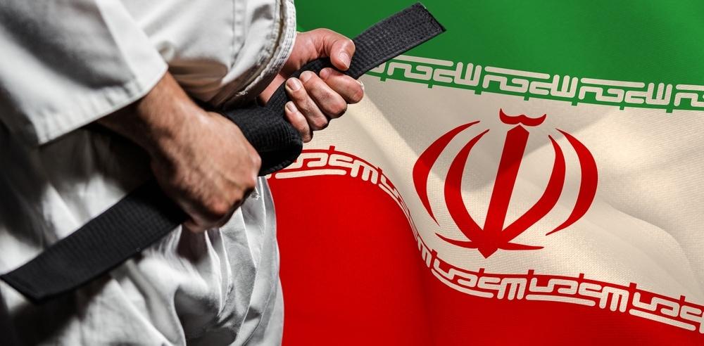 Iran Judo wrestler