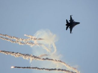 Fighter jet strike
