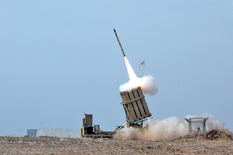 Israel's air defense system Iron Dome