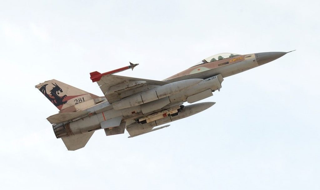 IDF fighter jet
