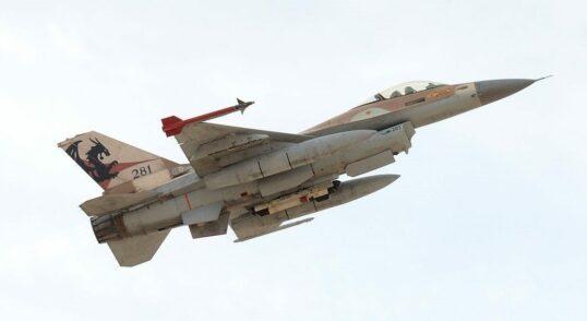 Israeli war plane