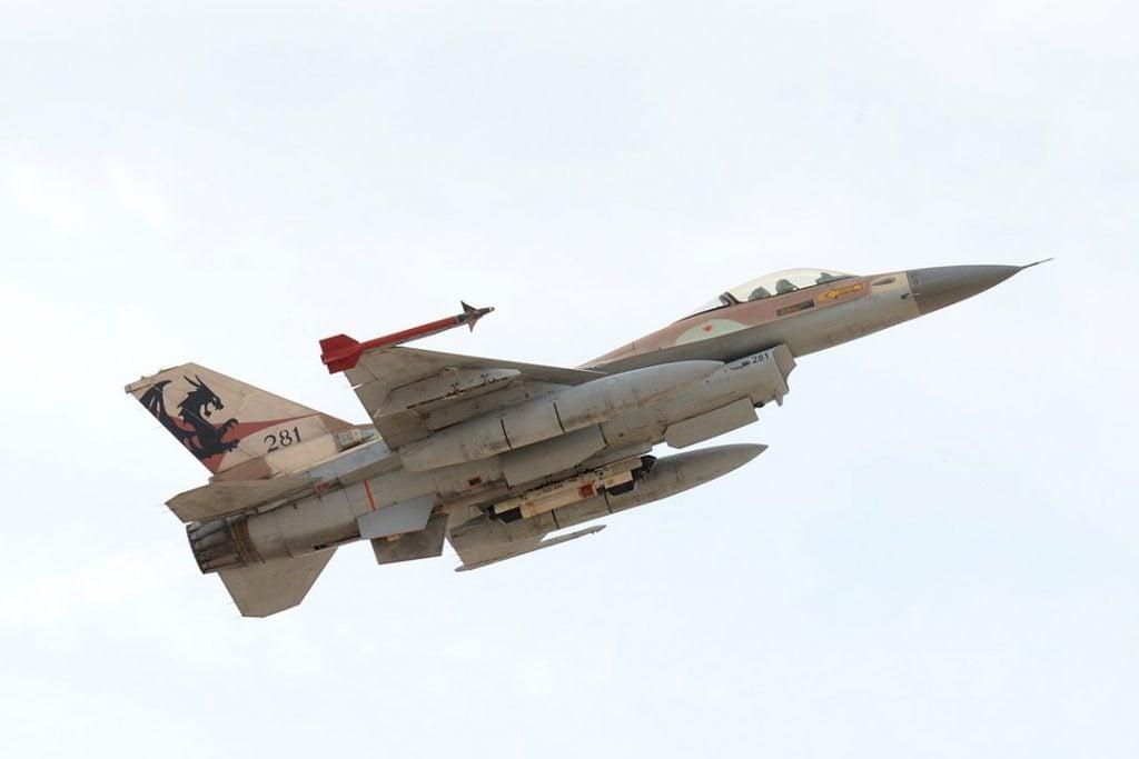IDF fighter jet