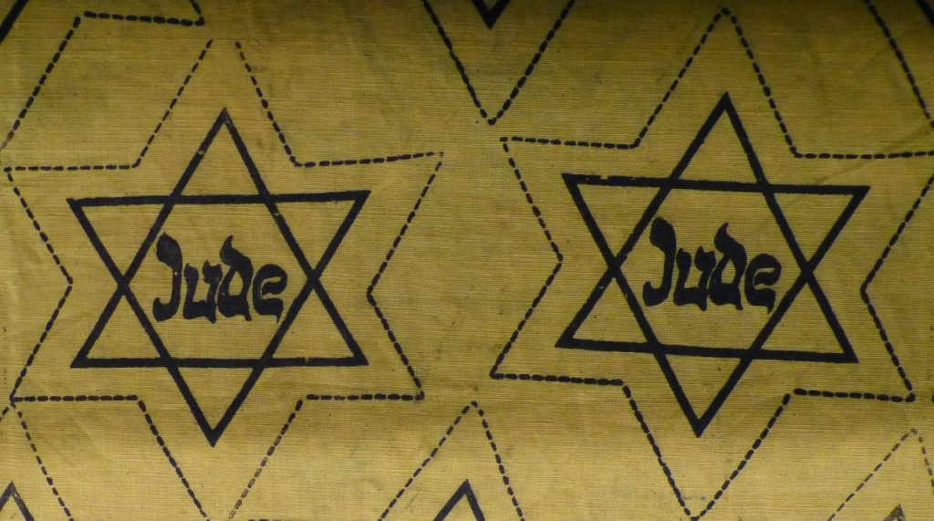 Yellow Jewish star