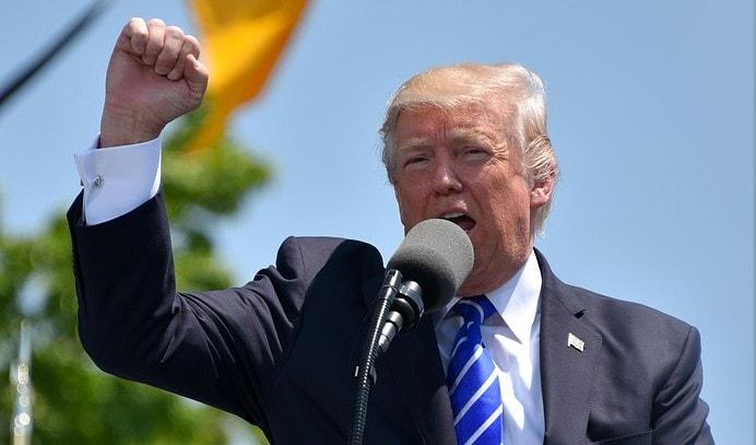 President Trump speaks