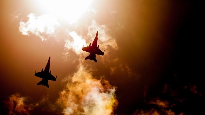 Israeli Jets Bomb Iranian Targets in Damascus Area 1