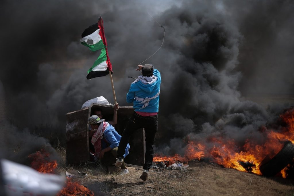 Gaza border violence