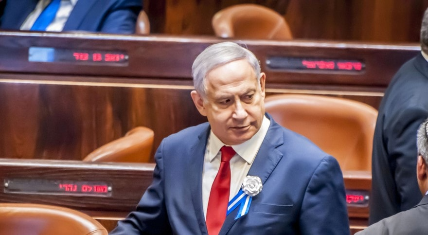 Netanyahu in Knesset