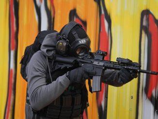 anti-terror forces