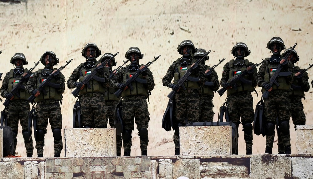 Hamas forces