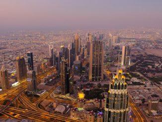 View of Dubai, UAE