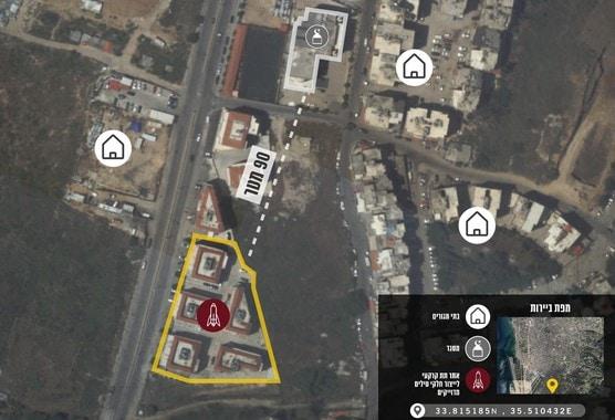 Beirut missile sites