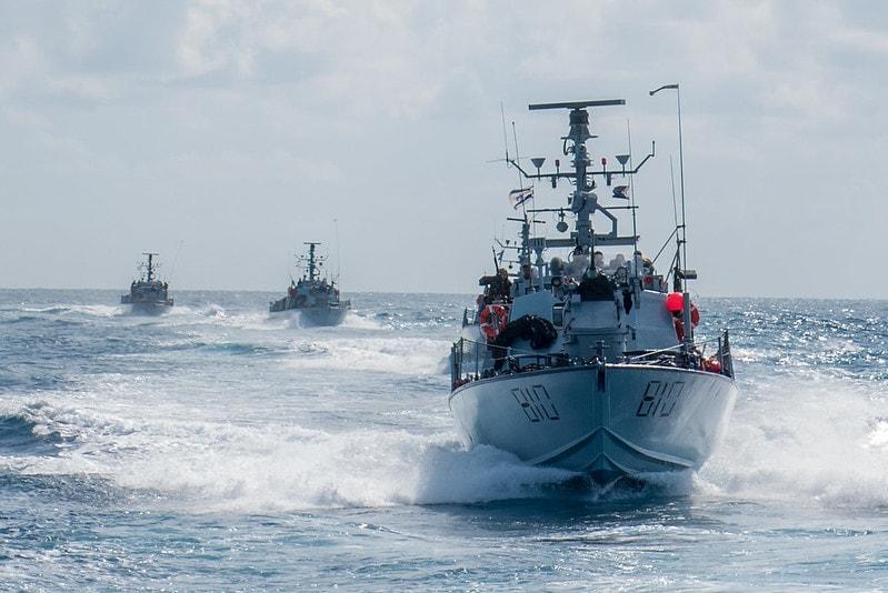 Israeli Navy ships