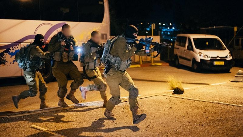 Η Ταξιαρχία του Commando IDF προετοιμάζεται να πολεμήσει τη Χεζμπολάχ 2