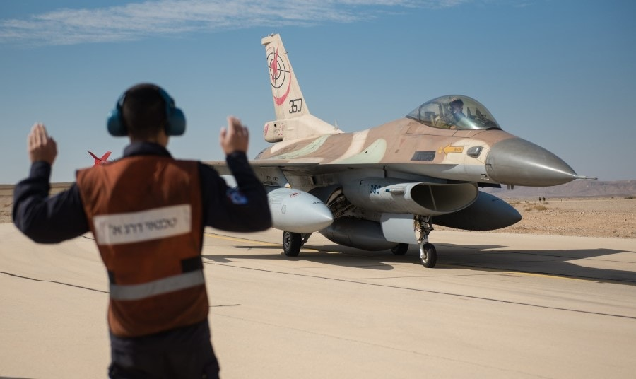 Air Force Warns Iran Axis: Israel Ready for Action 1
