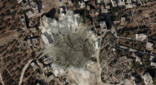 Israel Bombs Multiple Targets Deep in Syria, TV Says 4