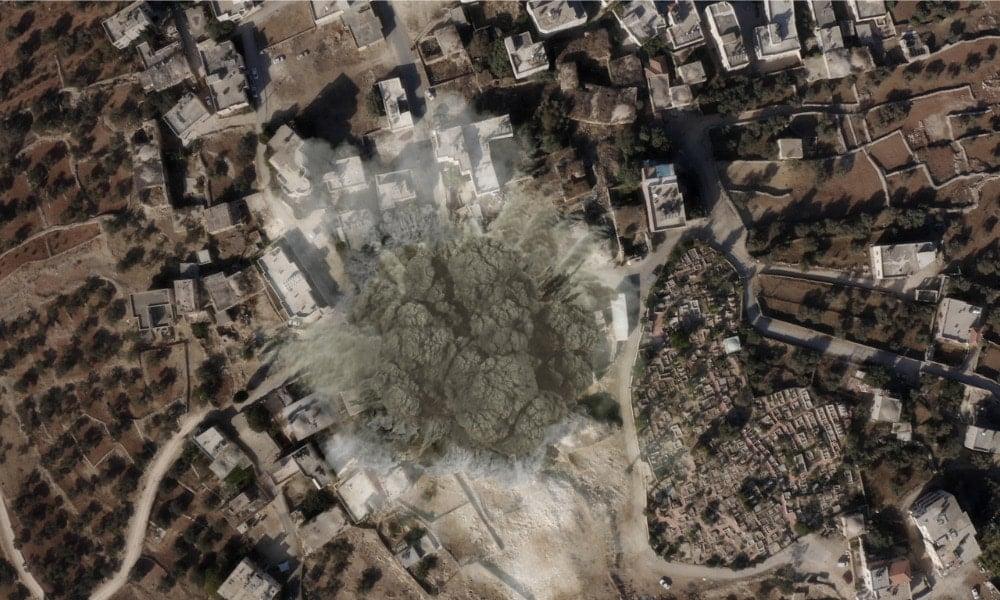 Israel Bombs Multiple Targets Deep in Syria, TV Says 1