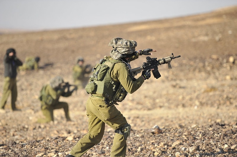 Israel Holds ISIS Terror Attack Drills on 2 Borders 1