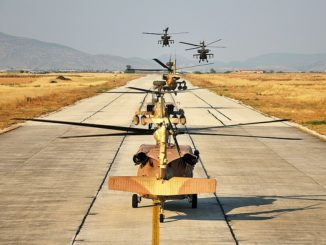 IDF Attack Helicopters Hold Lebanon, Gaza War Drills 1
