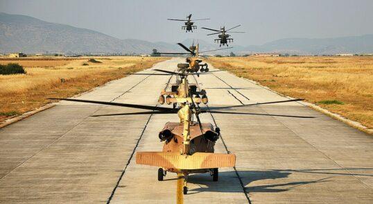 IDF Attack Helicopters Hold Lebanon, Gaza War Drills 4