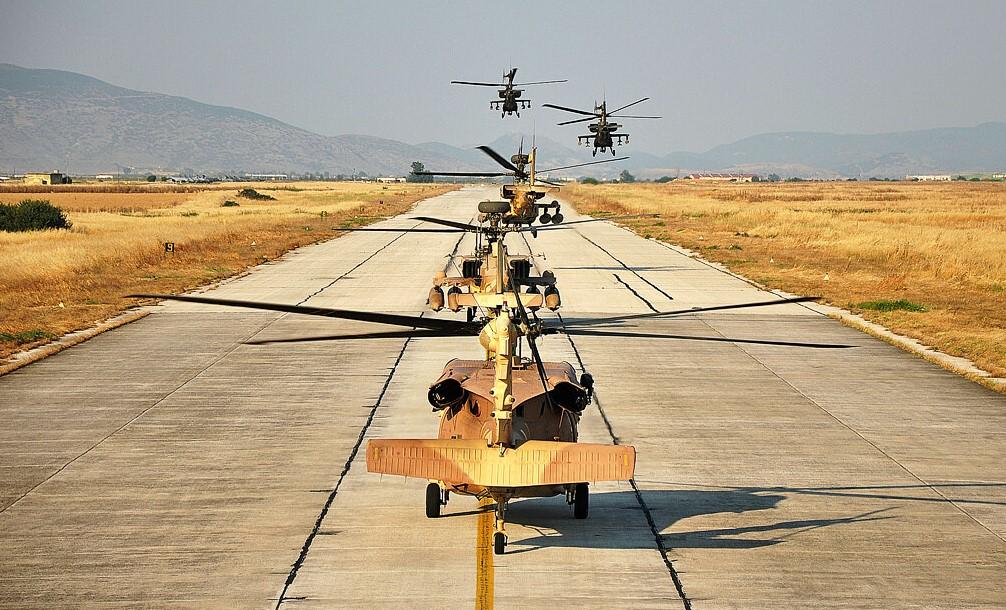 IDF Attack Helicopters Hold Lebanon, Gaza War Drills 1