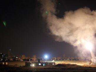 Israel at War With Gaza After Rocket Blitz on Tel Aviv 1