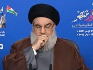 Nasrallah Sick With COVID-19, Israeli Officials Estimate 5