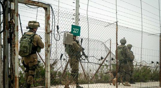 IDF Crosses Lebanon Border Fence to Collect Intelligence 4