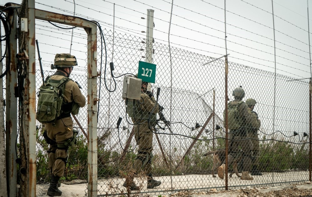 IDF Crosses Lebanon Border Fence to Collect Intelligence 1