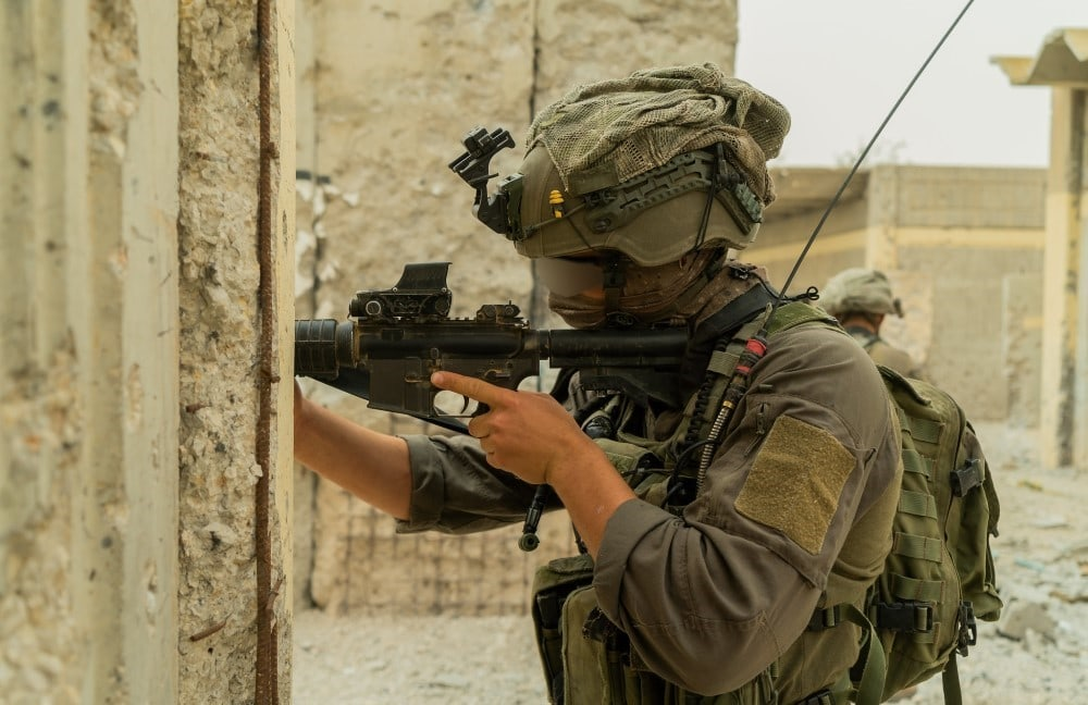 IDF Simulates Raid on Lebanese Village in Golan Drill 1