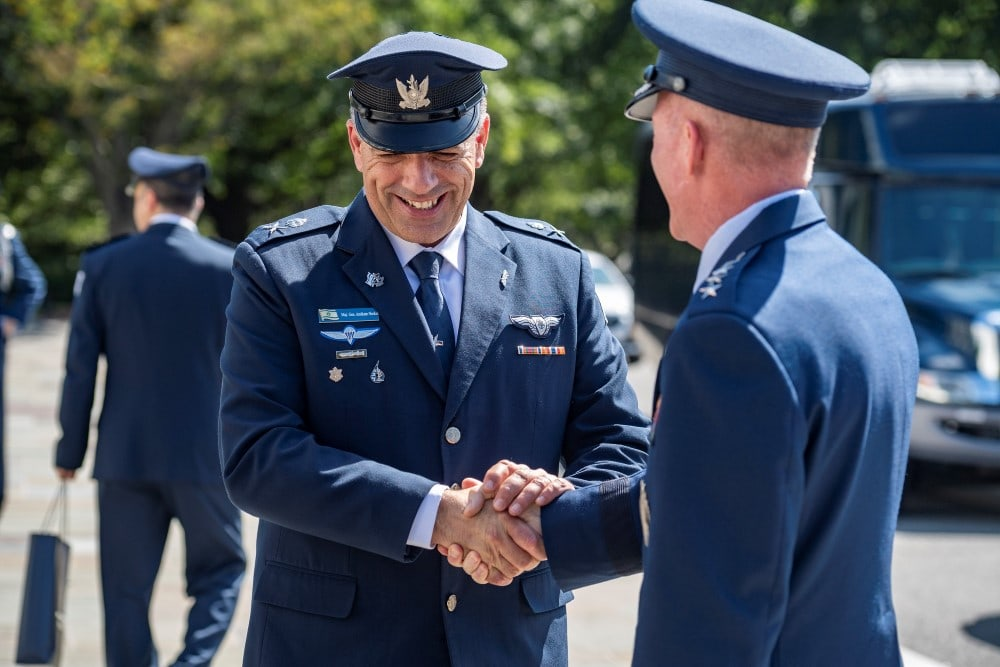 Air Force Chief Visits US to Boost Israeli Air Power 1