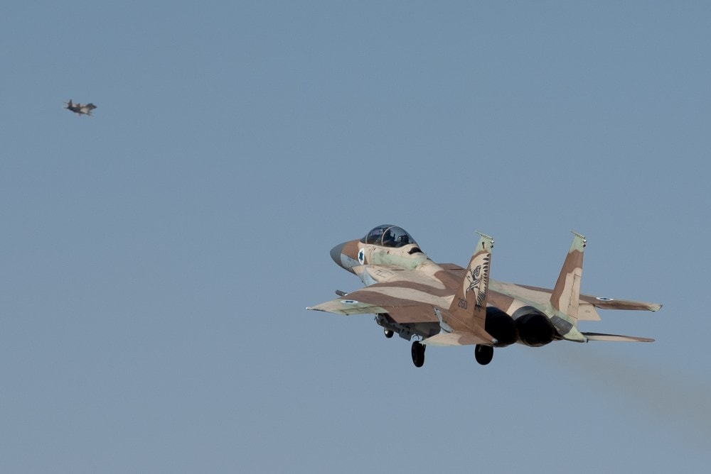Israel Bombs Strategic Weapons at Damascus Airport 1