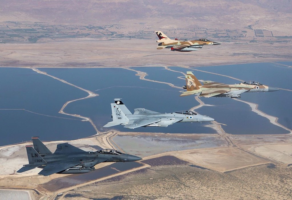 Israel, US Air Forces Step Up Joint War Training 1