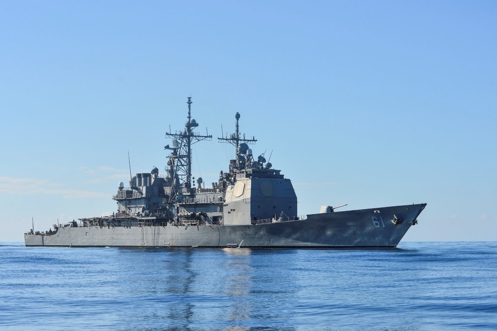 Israeli, US Warships Hold Joint Naval Maneuver in Red Sea 1